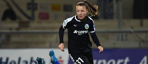 Tanja Pawollek vom FFC Frankfurt