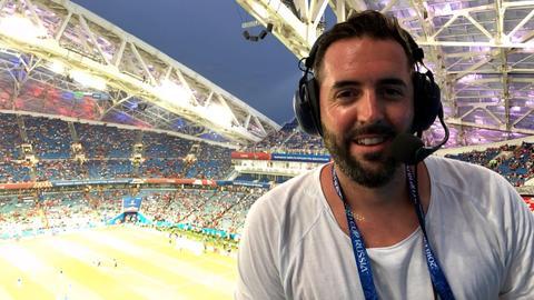Philipp Hofmeister bei WM in Russland