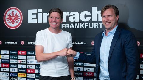 Zwei Neue: Trainer Oliver Glasner (li.) und Sportvorstand Markus Krösche