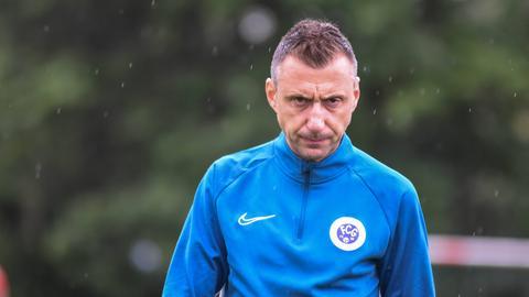Christos Tsifnas, Trainer des FC Germania Großkrotzenburg.