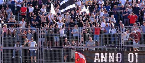 Fans des KSV Baunatal