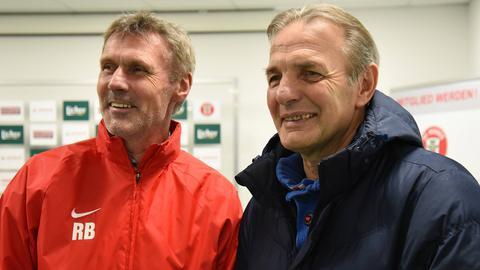 Rudi Bommer und Charly Körbel