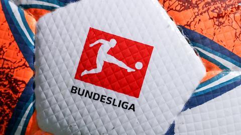 Ein Ball aus der Bundesliga