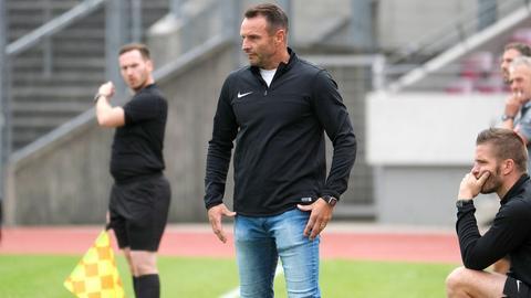 Ex-KSV-Hessen-Kassel-Trainer Dietmar Hirsch