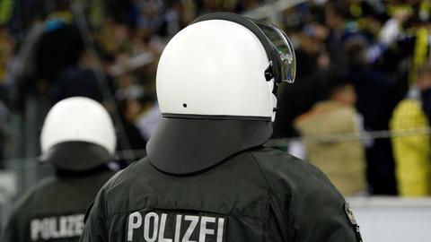 Polizei Fußball Fans Randale