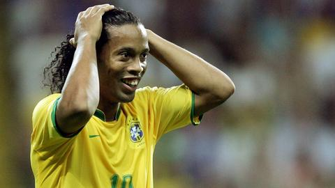 Ronaldinho bei der WM 2006 in Frankfurt