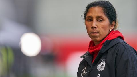 Bundestrainerin Steffi Jones
