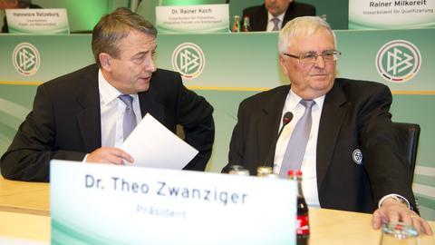 Wolfgang Niersbach und Theo Zwanziger