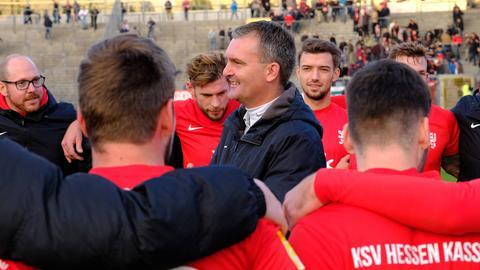Trainer Tobias Cramer und sein KSV blasen zur Aufholjagd.