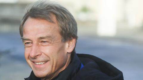 Jürgen Klinsmann im Hertha Training