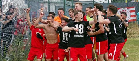 U19-Junioren des KSV Kassel steigen in die Bundsliga auf