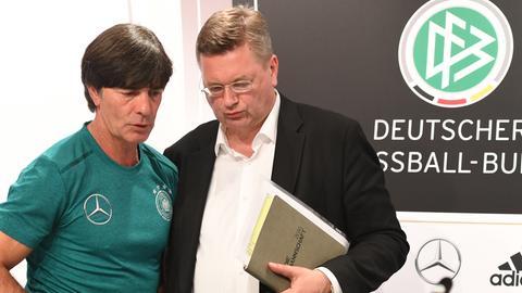 Joachim Löw und Reinhard Grindel