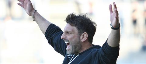 Adrian Alipour ist seit Juli 2019 Cheftrainer des TSV Steinbach in der Regionallig Südwest.