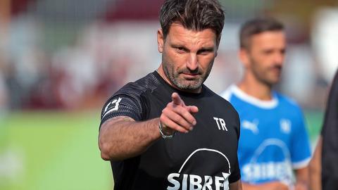 Adrian Alipour vom TSV Steinbach Haiger