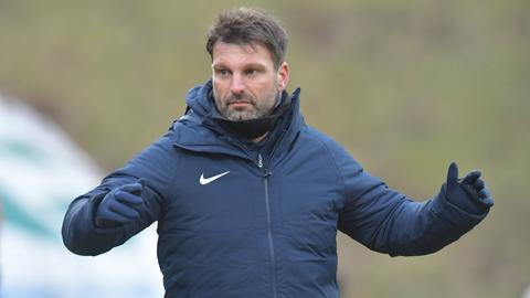 Adrian Alipour, neuer Trainer des TSV Steinbach Haiger.