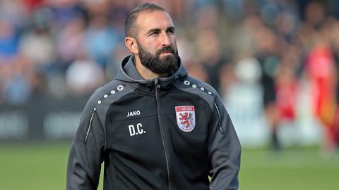 Daniyel Cimen, Trainer des FC Gießen