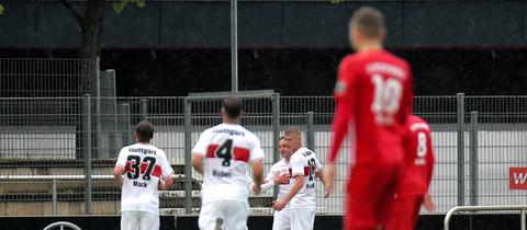 Der SC Hessen Dreieich musste sich auch dem VfB Stuttgart II geschlagen geben.