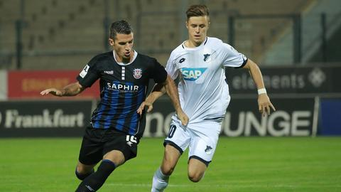 Der FSV Frankfurt im Heimspiel gegen Hoffenheim