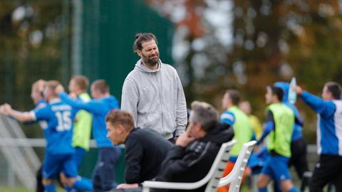 Eddersheims Trainer Rouven Leopold
