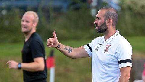 Gießen-Trainer Daniyel Cimen geht selbstbewusst in die neue Saison.