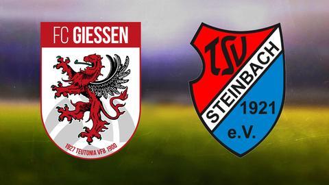 Die Logos von Gießen und Steinbach Haiger