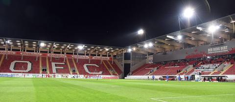 Das Stadion der Offenbacher Kickers