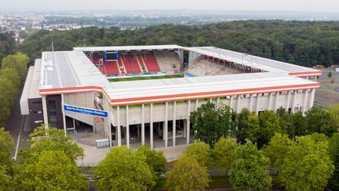 Das Stadion von Kickers Offenbach