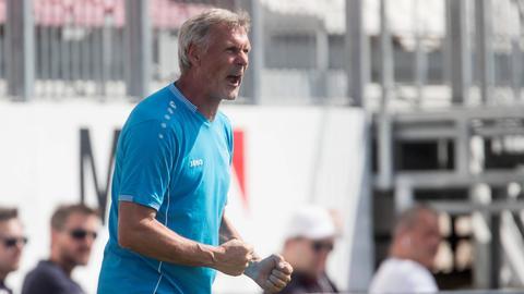 Rudi Bommer ballt die Fäuste