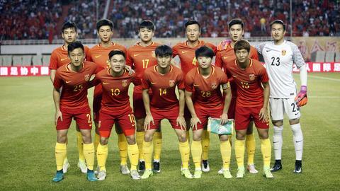 Die U20-Auswahl Chinas