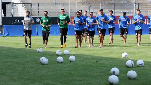 Trainingsauftakt beim FSV Frankfurt