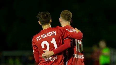 Jubel beim FC Gießen