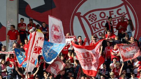 Fans der Offenbacher Kickers