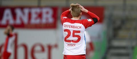 Frust bei den Offenbacher Kickers