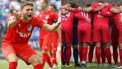 Collage: Strujic und der FC Giessen