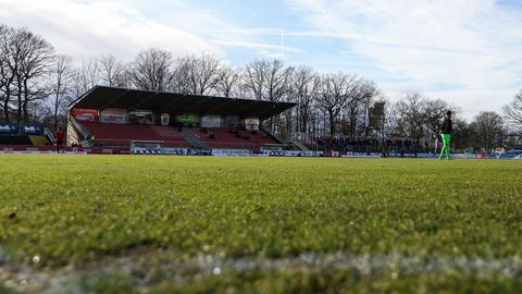 Das Waldstadion in Gießen