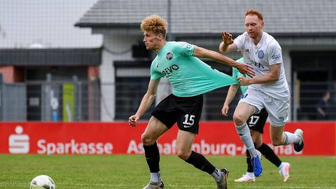 Kickers Offenbach beim 4:0 in Kassel