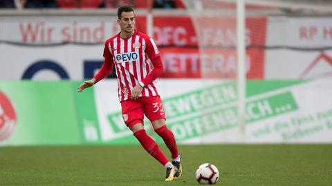 Francesco Lovrić von den Offenbacher Kickers