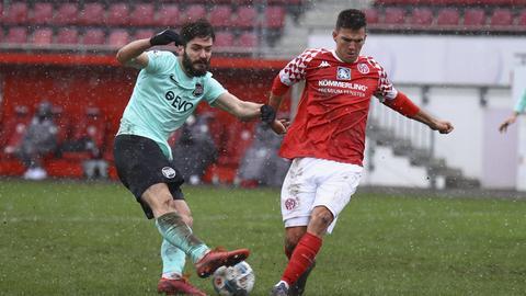 Kickers Offenbach gegen Mainz