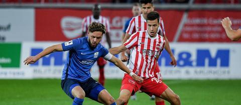 Dennis Huseinbasic vom OFC im Spiel gegen Mainz