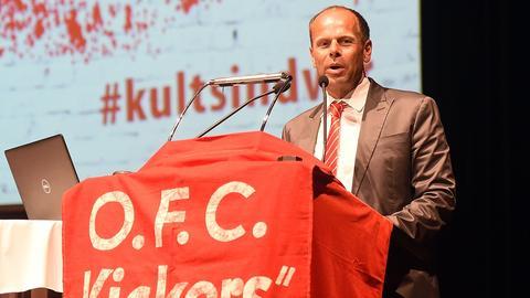 Joachim Wagner führt den OFC als neuer Präsident an.
