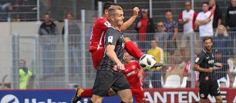 Spielszene Dreieich gegen Offenbach