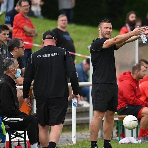KSV-Trainer Tobias Damm will sich mit dem KSV weiterentwickeln.