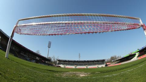 Wann die Tore in der Regionalliga wieder geöffnet werden, ist weiterhin unklar.