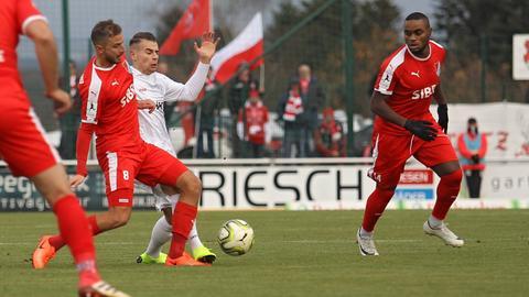 Der TSV Steinbach Haiger patzt im Hessenduell gegen den SC Hessen Dreieich.