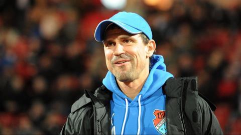 Konnte nach dem ersten Saisonsieg zufrieden sein: Steinbachs Trainer Matthias Mink.