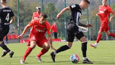 Christian März vom TSV Steinbach Haiger im Spiel gegen Aalen