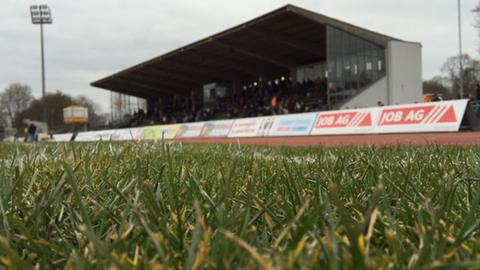 Das Stadion Johannisau in Fulda