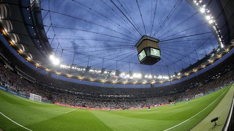 Blick ins Frankfurter Stadion