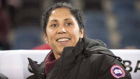 Frauen-Bundestrainerin Steffi Jones