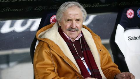 Dragoslav Stepanovic auf der Eintracht-Bank